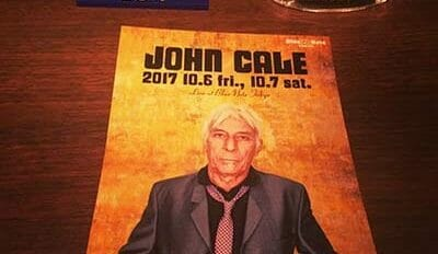 JOHN CALE ライブ at Blue Note Tokyo