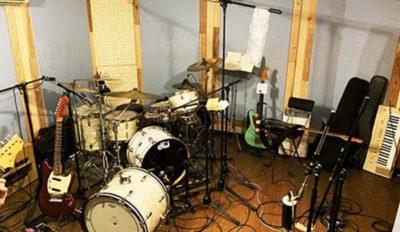 ドラムのレコーディング